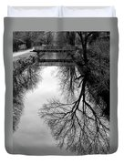 The Delaware And Raritan Canal Duvet Cover
