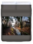 The Delaware Canal In New Hope Pa Duvet Cover