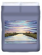 The Delta Experience Duvet Cover