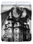 The Demon Of Hell House Duvet Cover