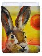 The Desert Hare Duvet Cover
