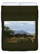 The Desert Landscape Duvet Cover