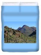 The Desert Mountains Duvet Cover