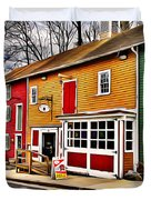 The Diamondback Tavern Of Ellicott City Duvet Cover