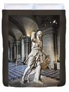 The Diana Of Versailles In The Louvre Duvet Cover
