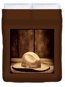 The Dirty Tan Hat Duvet Cover