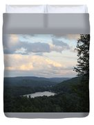 The Distant Hills Of Vermont Duvet Cover