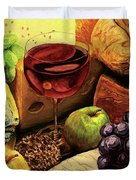 The Divine Meal Duvet Cover
