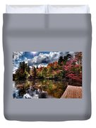 The Dock At The Boathouse Duvet Cover