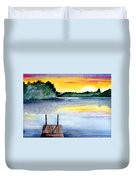 The Dock Duvet Cover