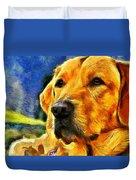 The Dog Duvet Cover