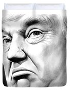 The Donald Duvet Cover