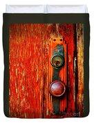 The Door Handle  Duvet Cover