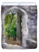 The Door Into Summer Duvet Cover