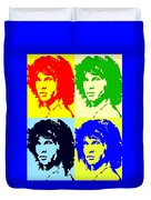 The Doors And Jimmy Duvet Cover by Robert Margetts