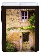 The Doorway To Provence Duvet Cover