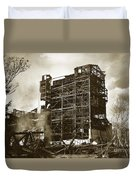 The Dorrance Breaker Wilkes Barre Pa 1983 Duvet Cover