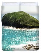 The Doughboys Island Landscape Duvet Cover