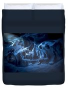 The Dragon And The Maiden Duvet Cover