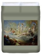 The Dream Of The Believer Duvet Cover by Achille Zo