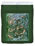 The Dream Of The Fish 1 By Walter Gramatte Duvet Cover