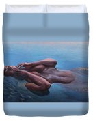 The Dreaming Mermaid Duvet Cover