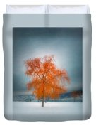 The Dreams Of Winter Duvet Cover