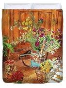 The Dried Flower Shop Duvet Cover