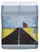 The Drive Duvet Cover