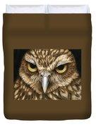 The Dubious Owl Duvet Cover