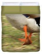 The Duck Strut Duvet Cover