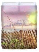 The Dunes In Watercolors Duvet Cover