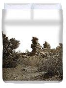 The Dutchmangarden Of The Gods, Colorado Duvet Cover