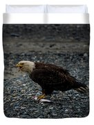 The Eagle And Its Prey Duvet Cover