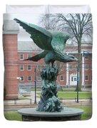 The Eagle - Widener University Duvet Cover