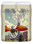 The Earth Is All That Lasts Duvet Cover