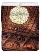 The East Room Ceiling Duvet Cover