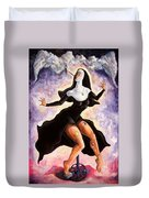The Ecstasy Of Mother Liberation  Duvet Cover