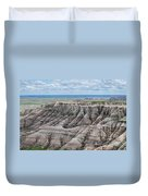 The Edge Of Panoramic Point Duvet Cover