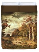 The Edge Of The Forest Duvet Cover