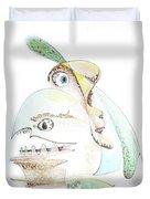 The Egg And I Duvet Cover