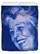 The Eleanor Roosevelt Stamp Duvet Cover