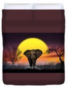 The Elephant Duvet Cover