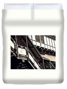 The Elevated Station At 125th Street 2 Duvet Cover