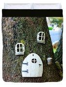 The Elf House Duvet Cover