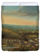 The Eli Whitney Gun Factory Duvet Cover