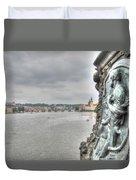 the embankment Praha Duvet Cover
