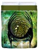 The Emerald Light  Duvet Cover