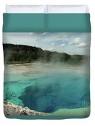 The Emerald Pool Colors Duvet Cover