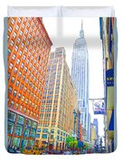 The Empire State Building 3 Duvet Cover